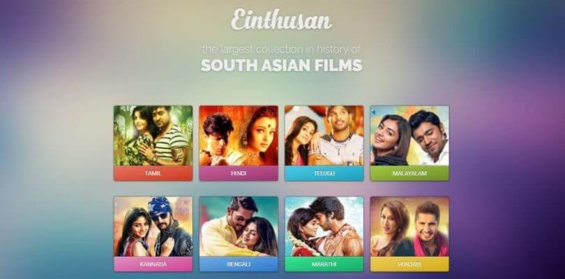 Einthusan alternatives for streaming movies